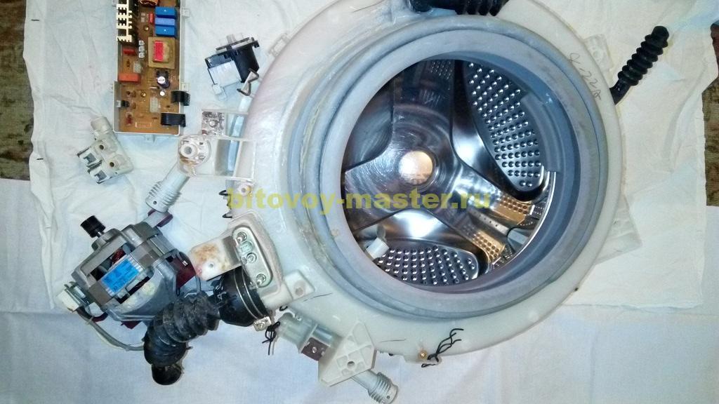 Ремонт стиралок своими руками барабан